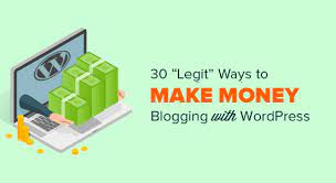 Profiting From Blogs – Make Cash With Blogs